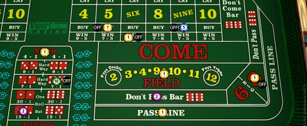 Microgaming unveil brand new and updated Vegas Craps