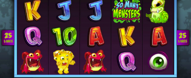 So Many Monsters hide in new Microgaming slot!